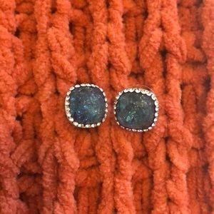 LOFT Blue & Silver Earrings